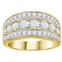 Picture of 1.00CT RD DIAMONDS SET IN 10KT YELLOW GOLD LADIES RING