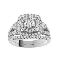 Picture of 1.55CT RD DIAMONDS SET IN 14KT WHITE GOLD LADIES RING