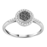 Picture of 0.25CT RD DIAMONDS SET IN 10KT WHITE GOLD LADIES RING