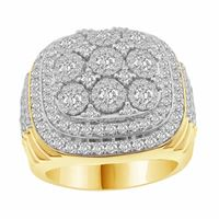 Picture of 3.00CT RD DIAMONDS SET IN 10KT YELLOW GOLD MENS RING