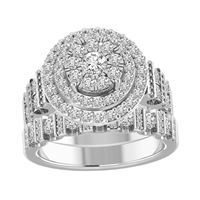 Picture of 2.00CT RD DIAMONDS SET IN 14KT WHITE GOLD LADIES BRIDAL RING