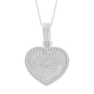 Picture of 0.50CT RD DIAMONS SET IN 10KT WHITE GOLD LADIES PENDANT
