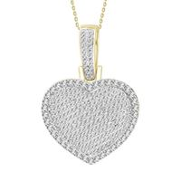 Picture of 1.00CT RD DIAMONDS SET IN 10KT YELLOW GOLD LADIES PENDANT