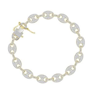 Picture of 1.40CT RD DIAMONDS SET IN 10KT YELLOW GOLD LADIES BRACELET