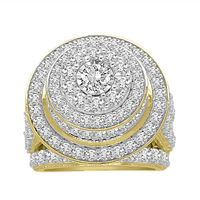 Picture of LADIES RINGS 5 CT ROUND DIAMOND 10K YELLOW GOLD